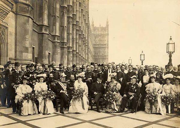 Célébrations de l'Entente cordiale en 1905
