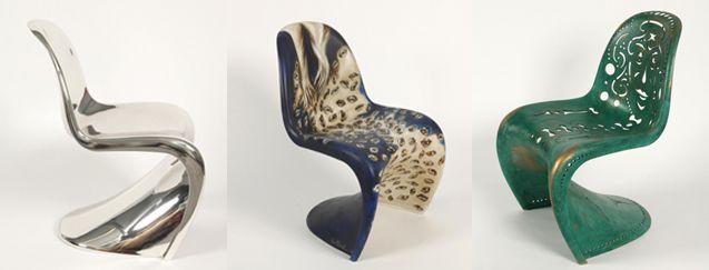 Les chaises Panton - Sarah Lavoine - Ara Starck -  Pucci di Rossi BD