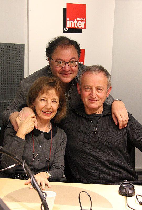 Anne et Yann Quefelec avec Frédéric Lodéon