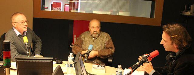 David Grossman, Michel Zlotowski et François Busnel
