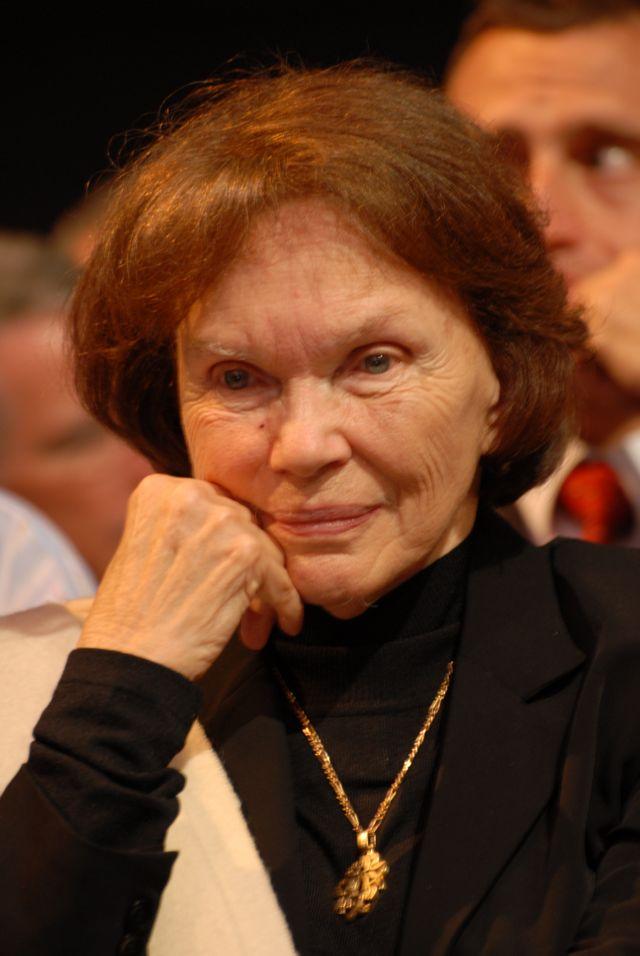 Danielle Mitterrand en 2007