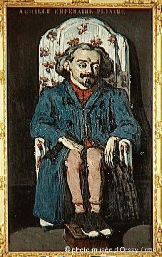 Paul Cézanne- Achille Emperaire