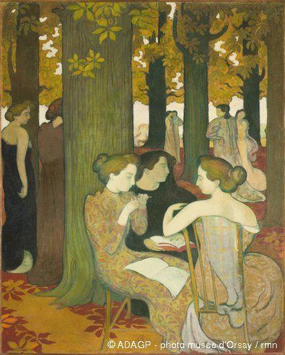 Les Muses de Maurice Denis (1893)