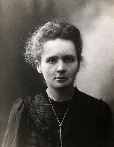 Portrait de Marie Curie en 1907