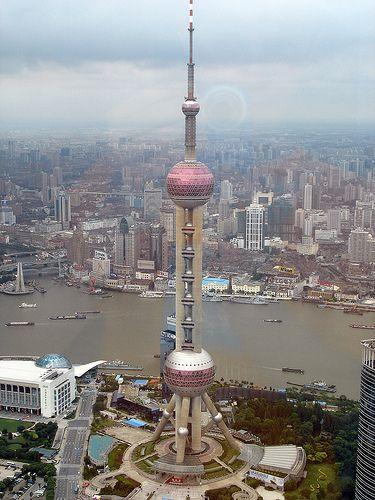 Tour de télévision Shanghaï