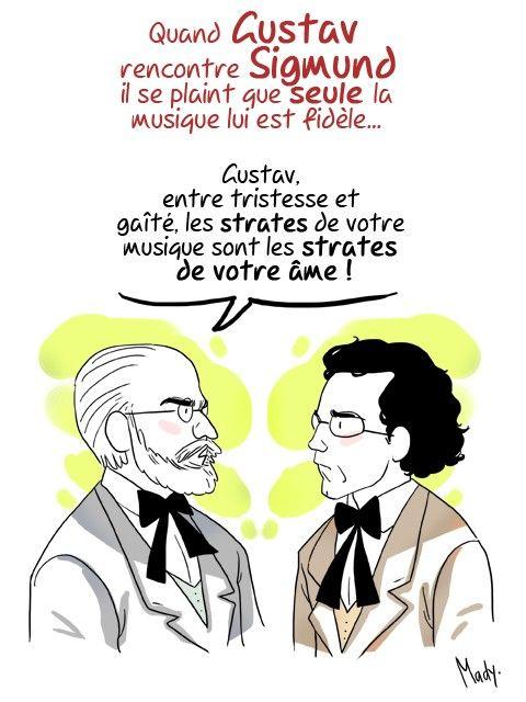 Gustav Mahler et Freud