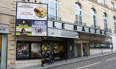 Le cinéma Le Balzac.