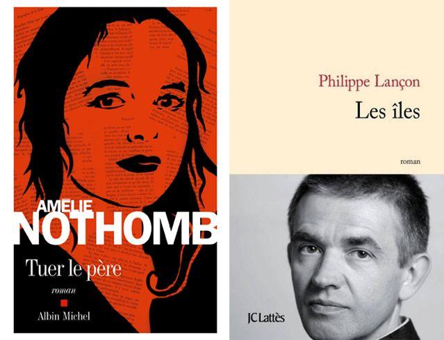 Amélie Nothomb Tuer le père et Philippe Lançon L'île