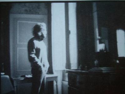 Jim Morrison dans son appartement parisien