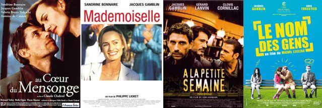 Affiches des films avec Jacques Gamblin