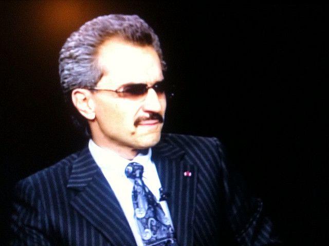Le prince Alwaleed bin Talal
