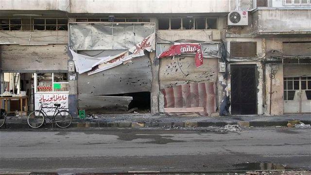 bombardements meurtriers sur le quartier de bab amro à homs