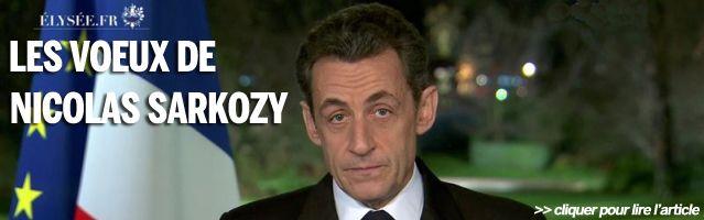 Lien voeux Sarkozy