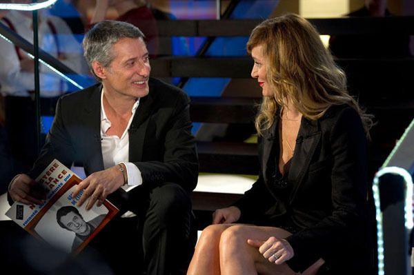 Antoine de Caunes et Julie Ferrier