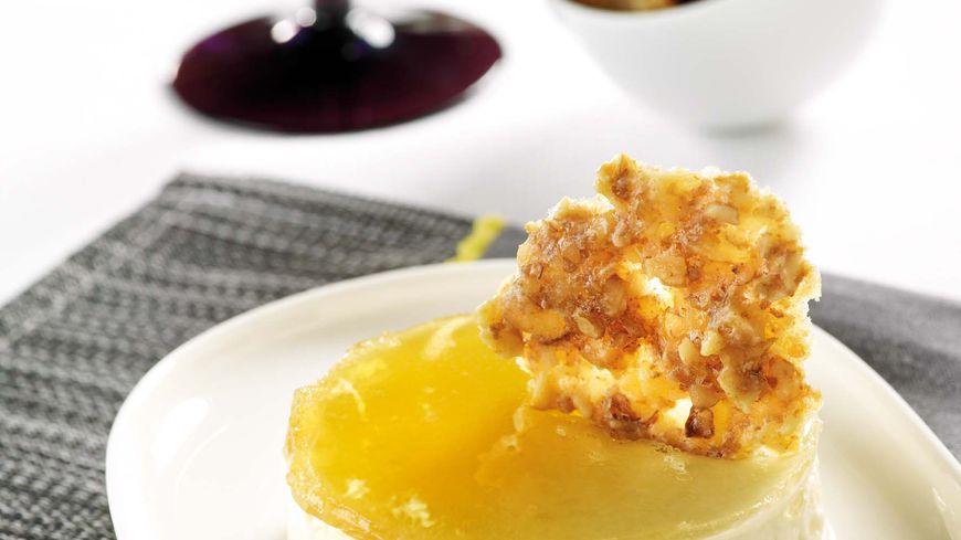recette-5316-Entremets reblochon miel et tuile de noix