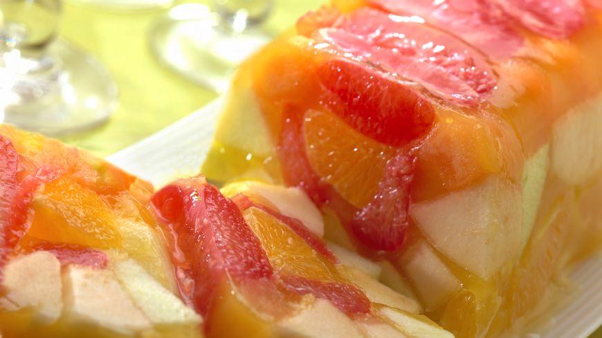 recette-3113-Aspic de fruits à l'orange