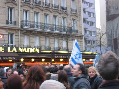 Manifestation le 26/02/2006 suite au meurtre d'Ilan Halimi