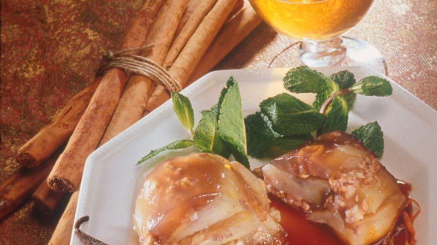 recette-1-Couronne de pommes en gelée de cidre