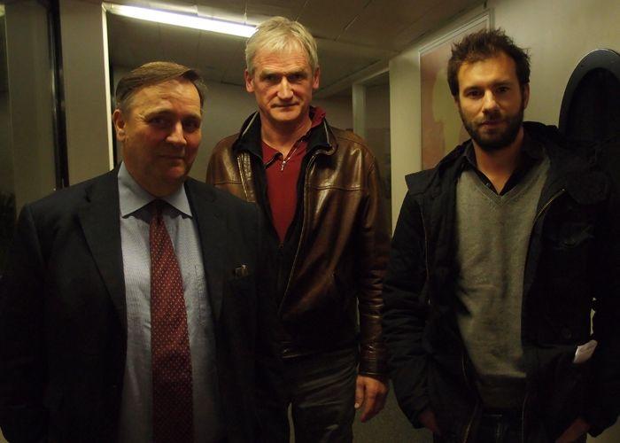 Arnaud de la Tour, Bernard Gomel et Mathieu Plane