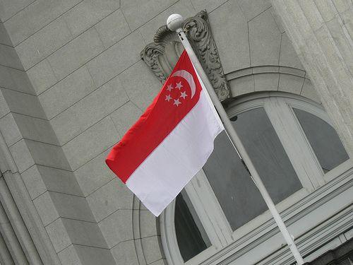 Drapeau singapourien