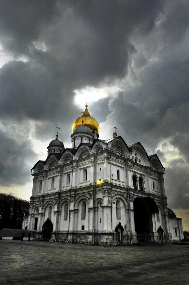 Cathédrale de l'Archange-Saint-Michel à Moscou