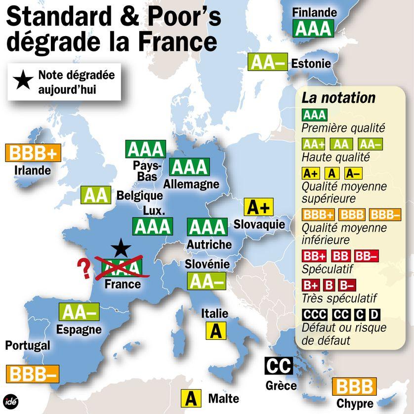 Le siège de l'agence Standard and Poor's