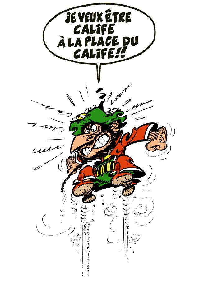 Iznogoud veut être calife...