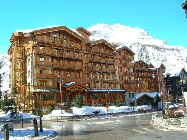 vue sur le Val d'Isère
