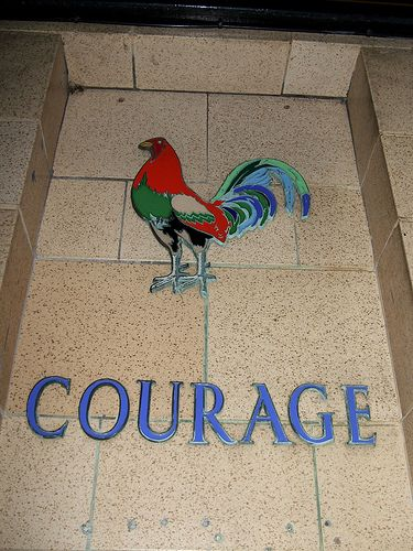 Symbole de courage Kingswood Place