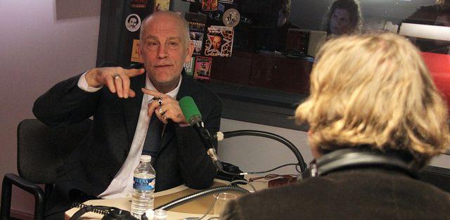 John Malkovich et François Busnel