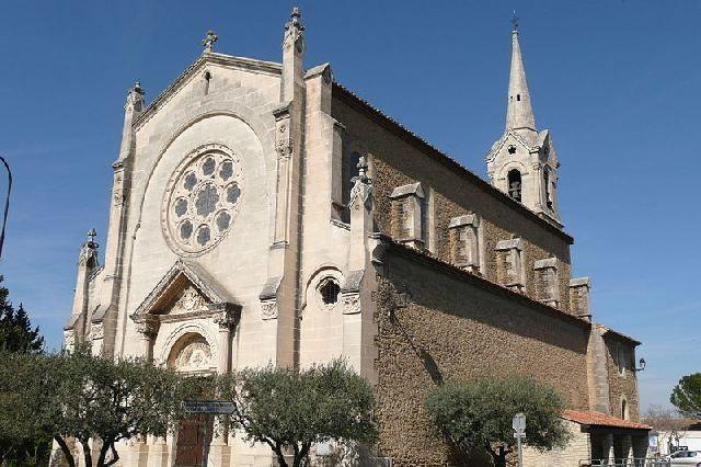 Eglise à Althen des Paluds