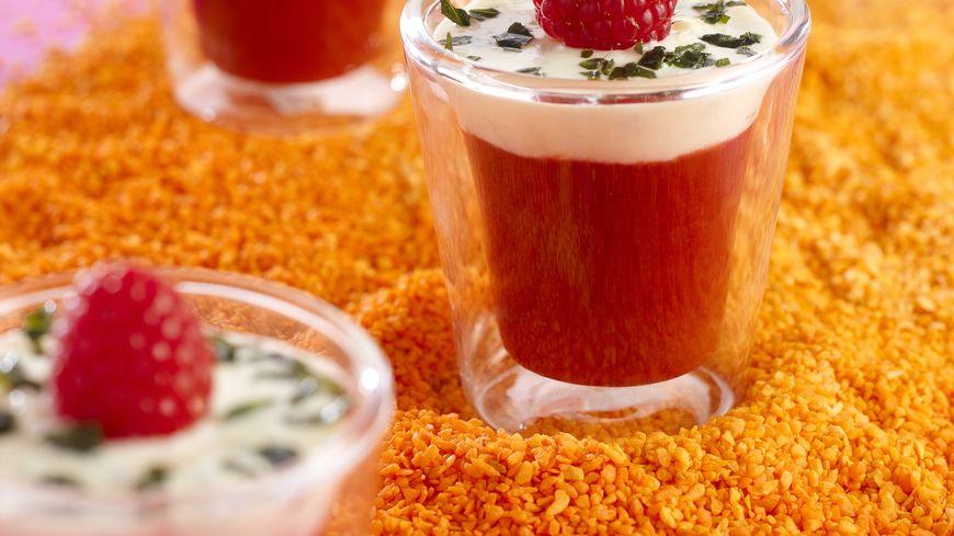 recette-3867-Soupe de Framboises au Basilic