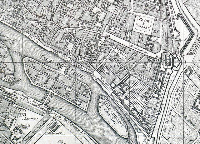 Plan de Vaugondy - 1760