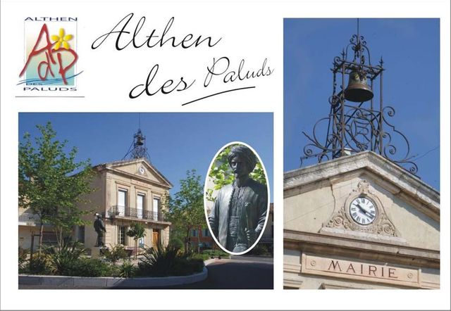 Carte Postale Althend-des-Paluds