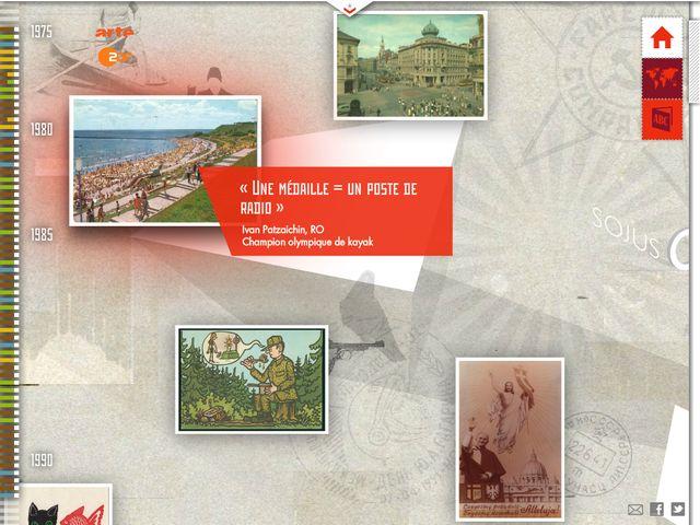 Le site Adieu Camarades