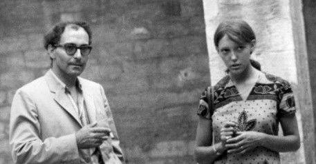 Godard et Anne Wiazemsky en 67 à Avignon