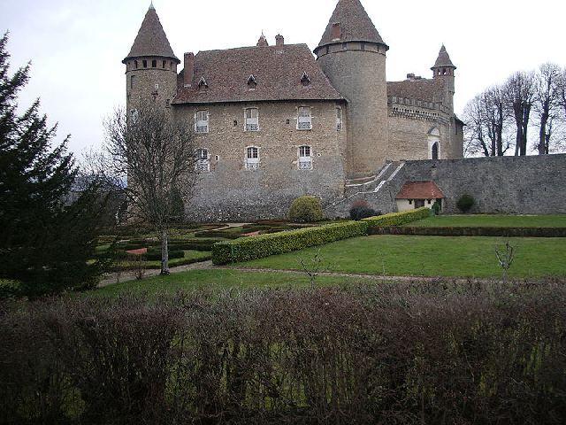 Château de Virieu en Isère