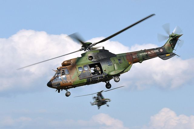 Hélicoptères Cougar
