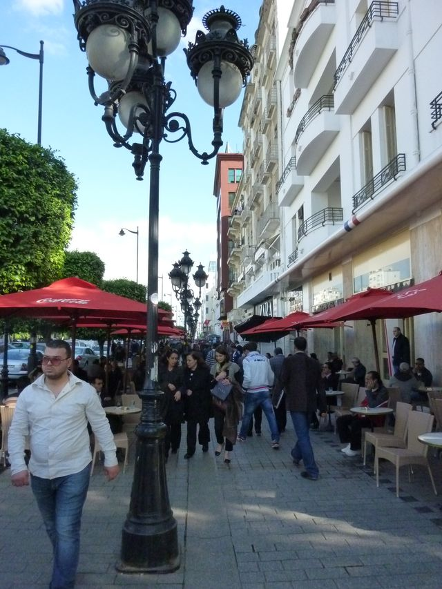 Avenue Bourguiba Tunis