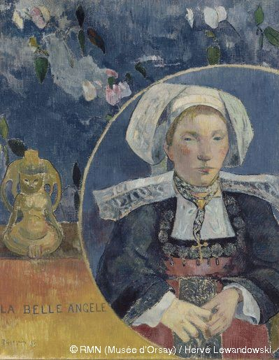 La belle Angèle de Paul Gauguin (1889)