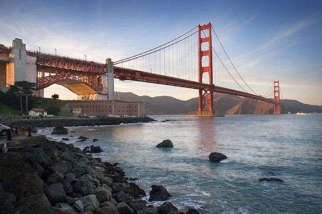 Le golden gate - San Francisco
