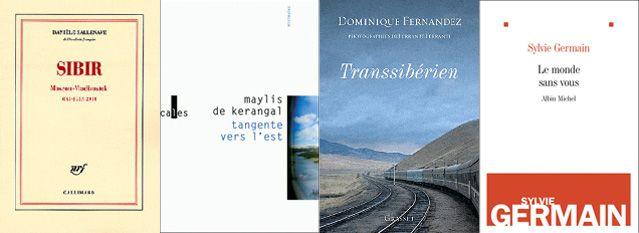 Couvertures des livres - Sibir, Tangente, Transsiberien et Le monde sans vous