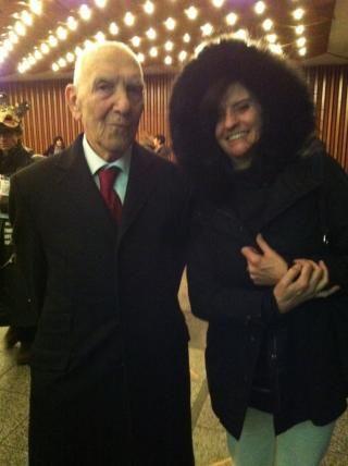 Stéphane Hessel avec Christine Masson
