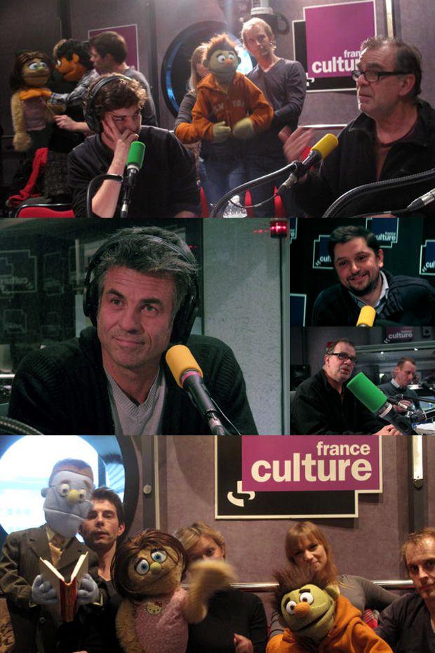 Benoît LAGANE, François GUIZERIX, Bruno GACCIO, Eric VERAT, Thomas CLERC, les comédiens et marionnettes d'Avenue Q