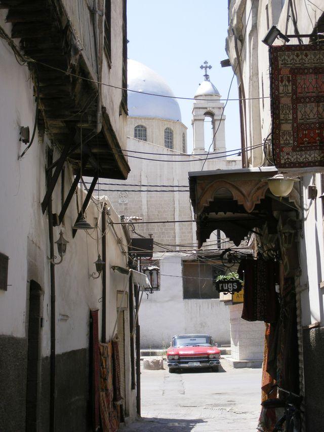 Eglise dans le quartier chrétien de Damas