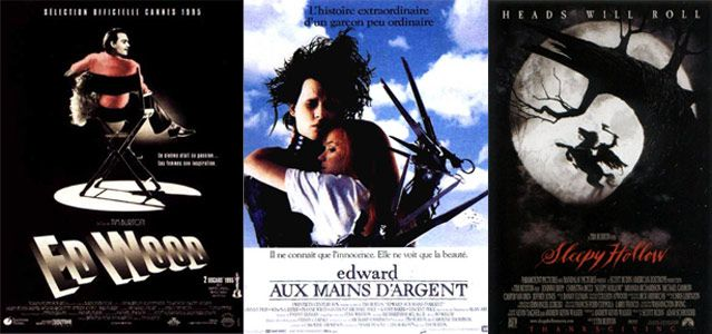 Affiche es films : Ed Wood, Edward aux mains d'argent, Sleepy Hollow