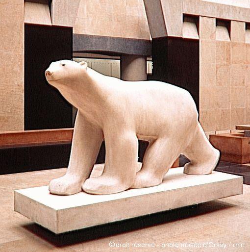 François Pompon - Ours blanc
