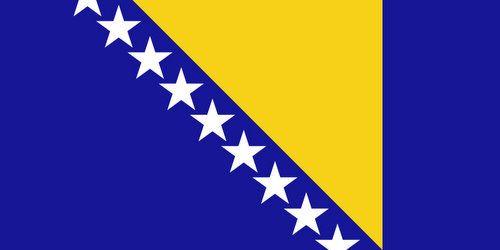 Drapeau bosniaque