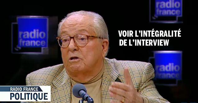Jean-Marie Le Pen avec L