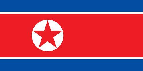 Drapeau Corée du Nord